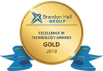 Brandon Hall Group Excellence in Technology Awards. Gold 2019