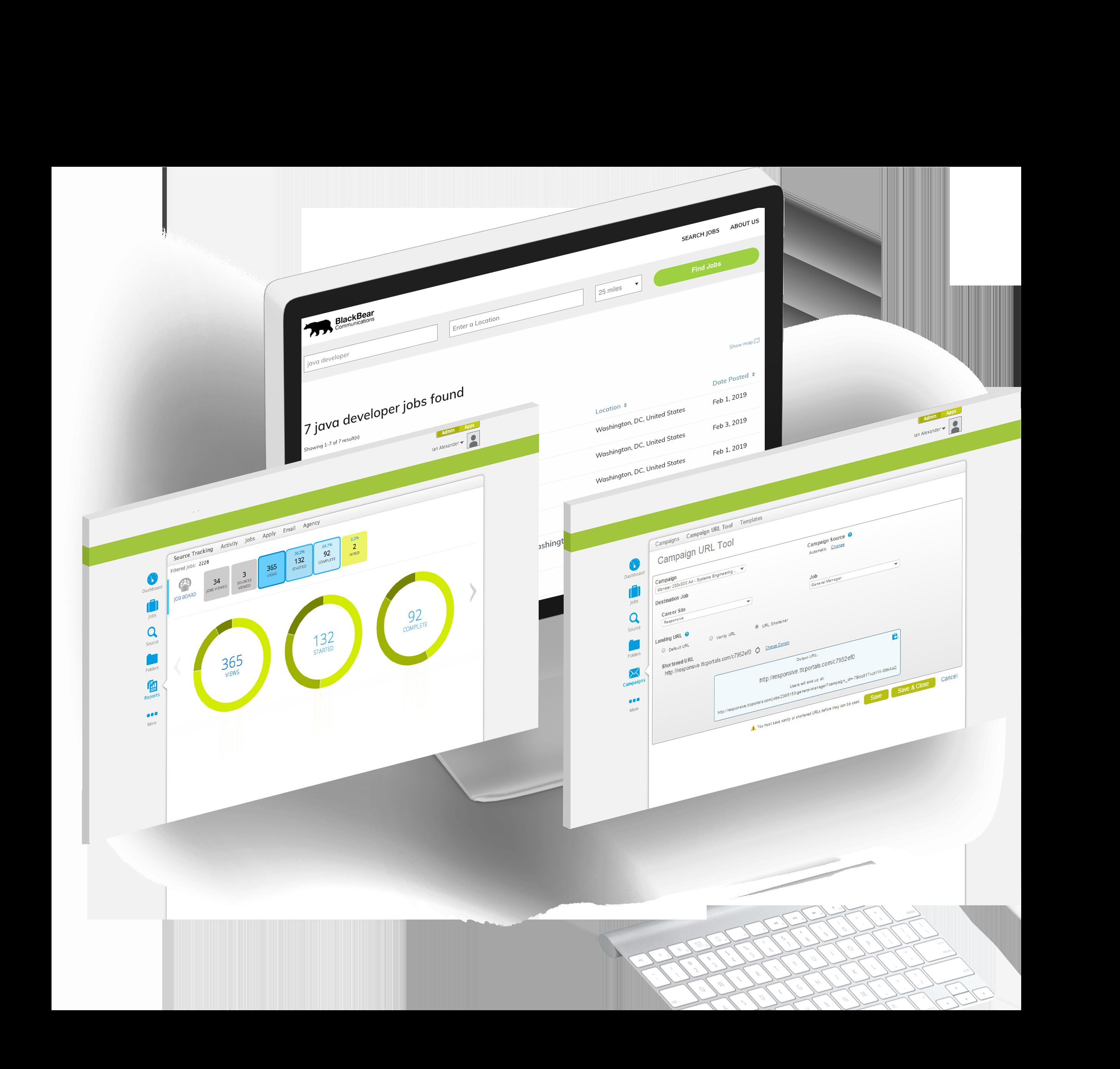 Enterprise recruitment marketing platform