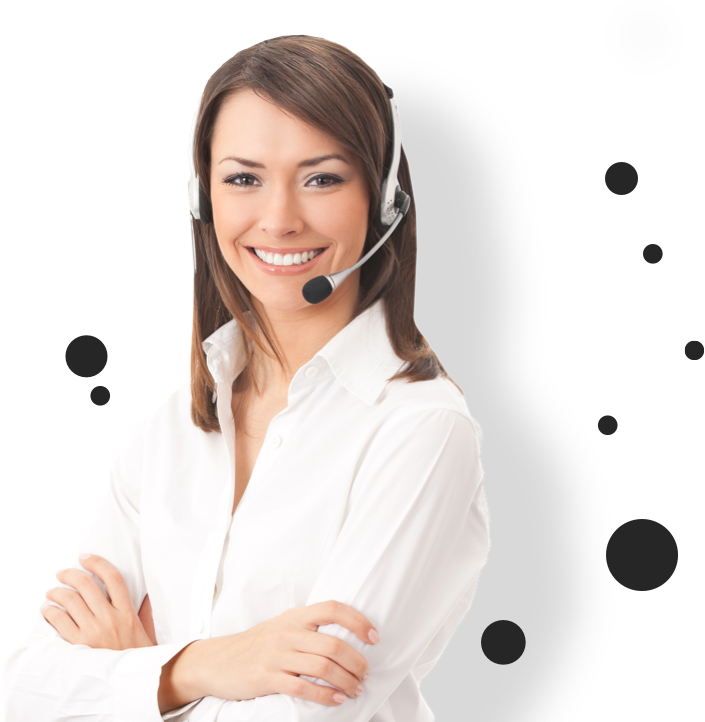 Woman-with-headset